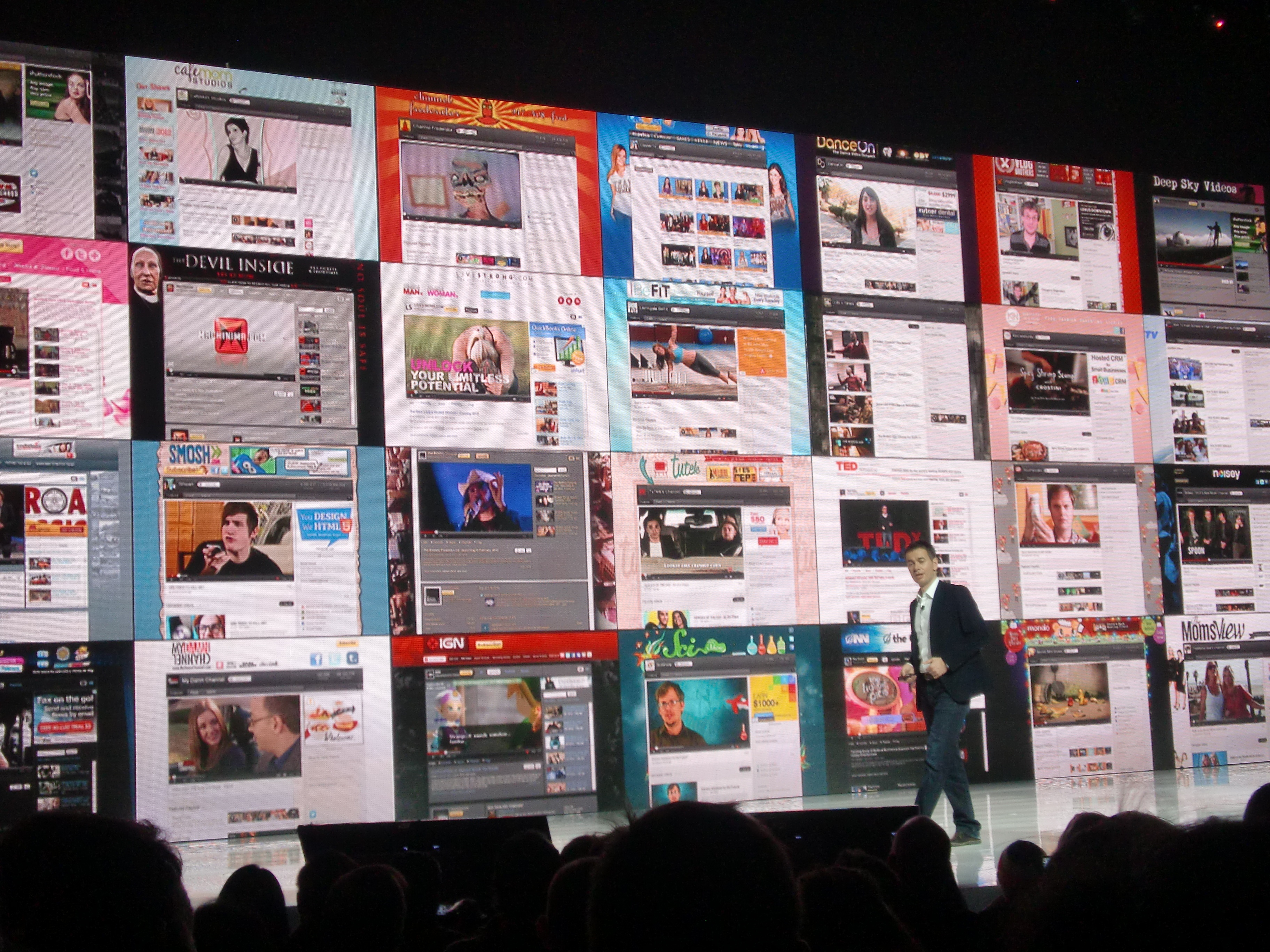 Keynote Robert Kyncl von YouTube bei der CES 2012
