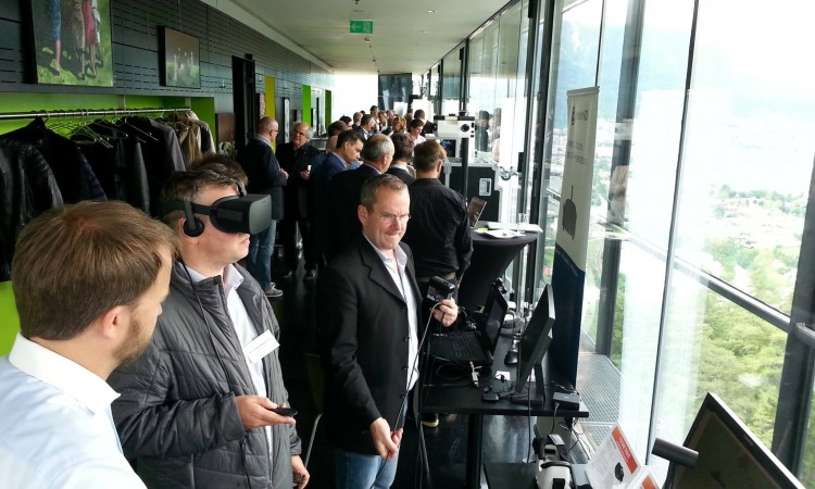 Virtual Reality Brille Sample City Lab Innsbruck