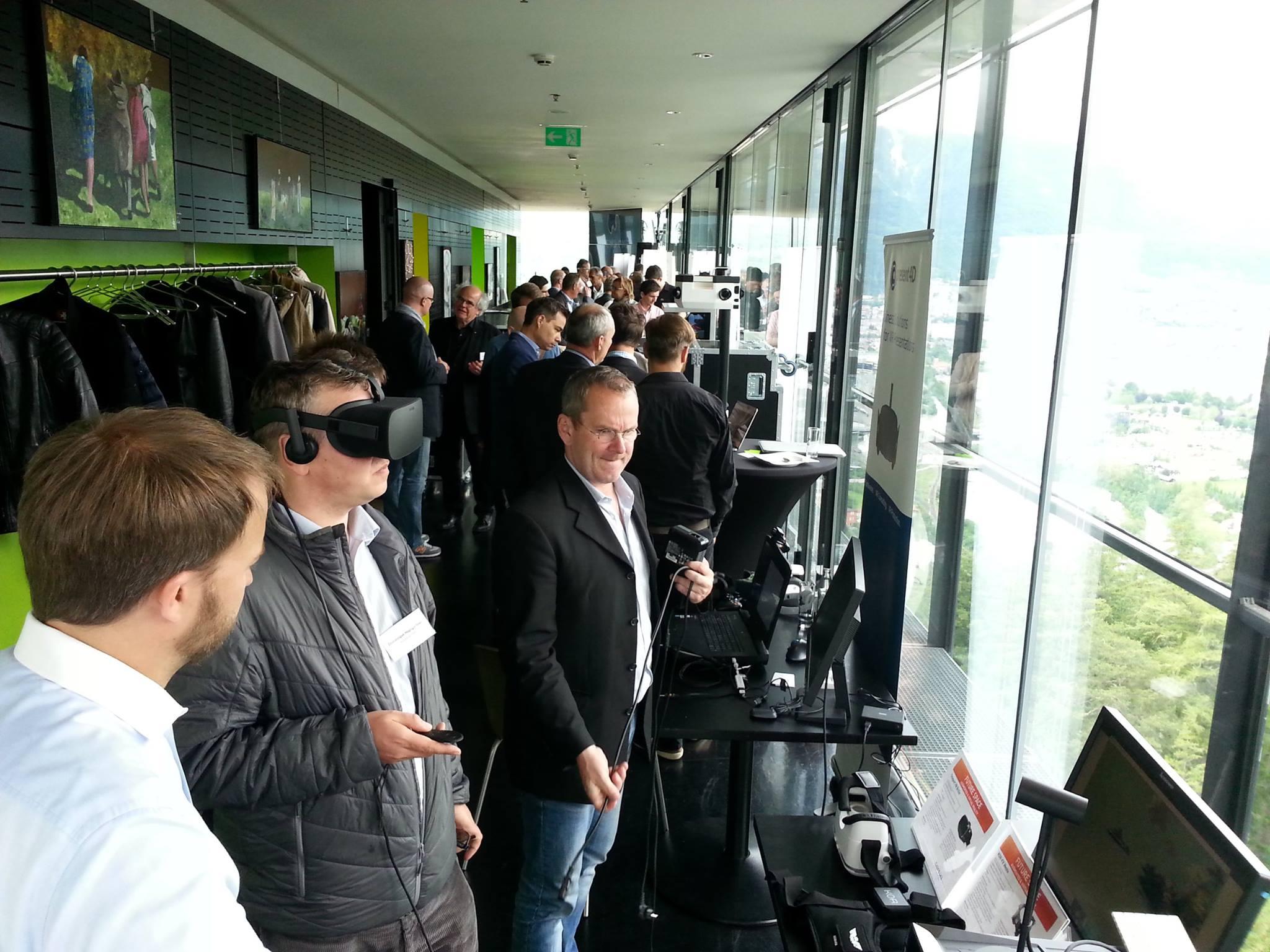Virtual Reality Brille Sample City Lab Innsbruck