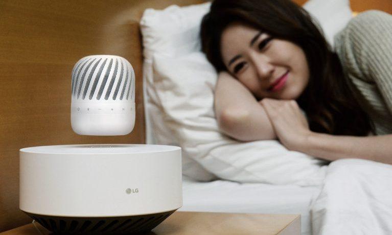 Lautsprecher mit Schwebeeffekt von LG