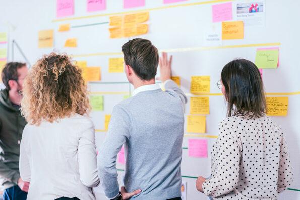 Innovationsworkshop: 3 Methoden für erfolgreiche Ergebnisse - Wall of Ideas